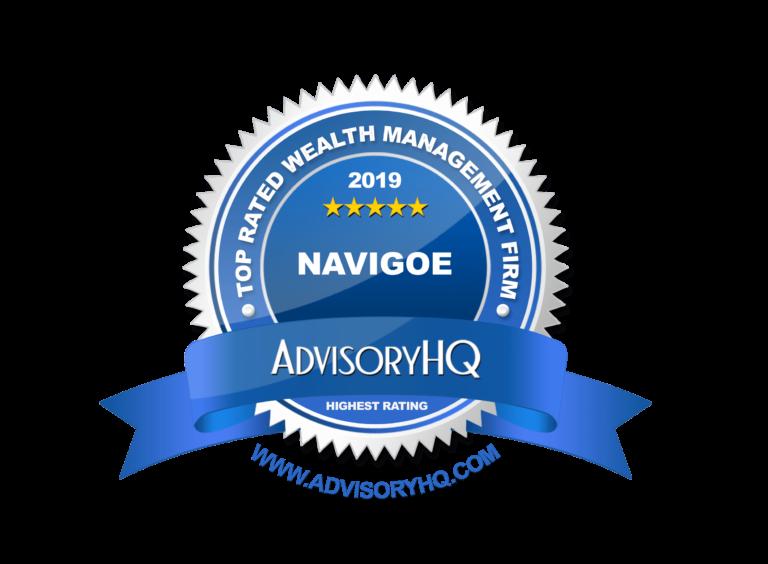 Navigoe AdvisoryHQ 2019 Award